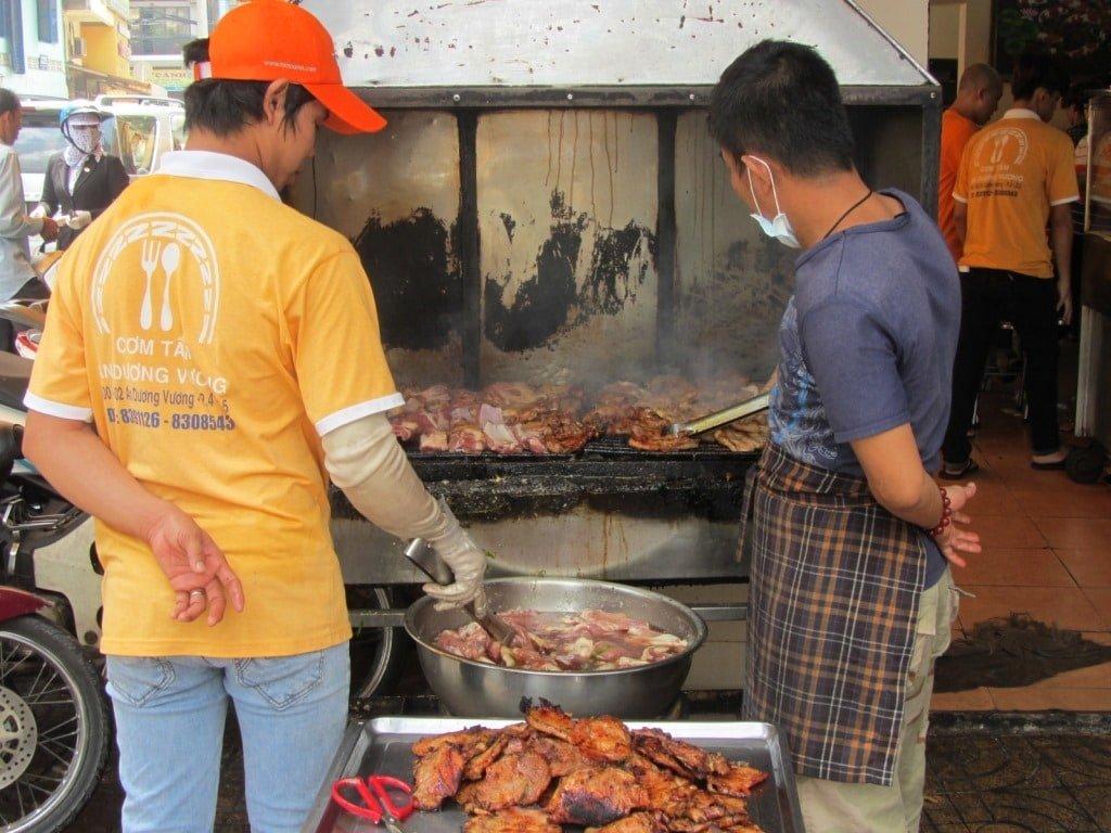 Cơm tấm An Dương Vương, Saigon