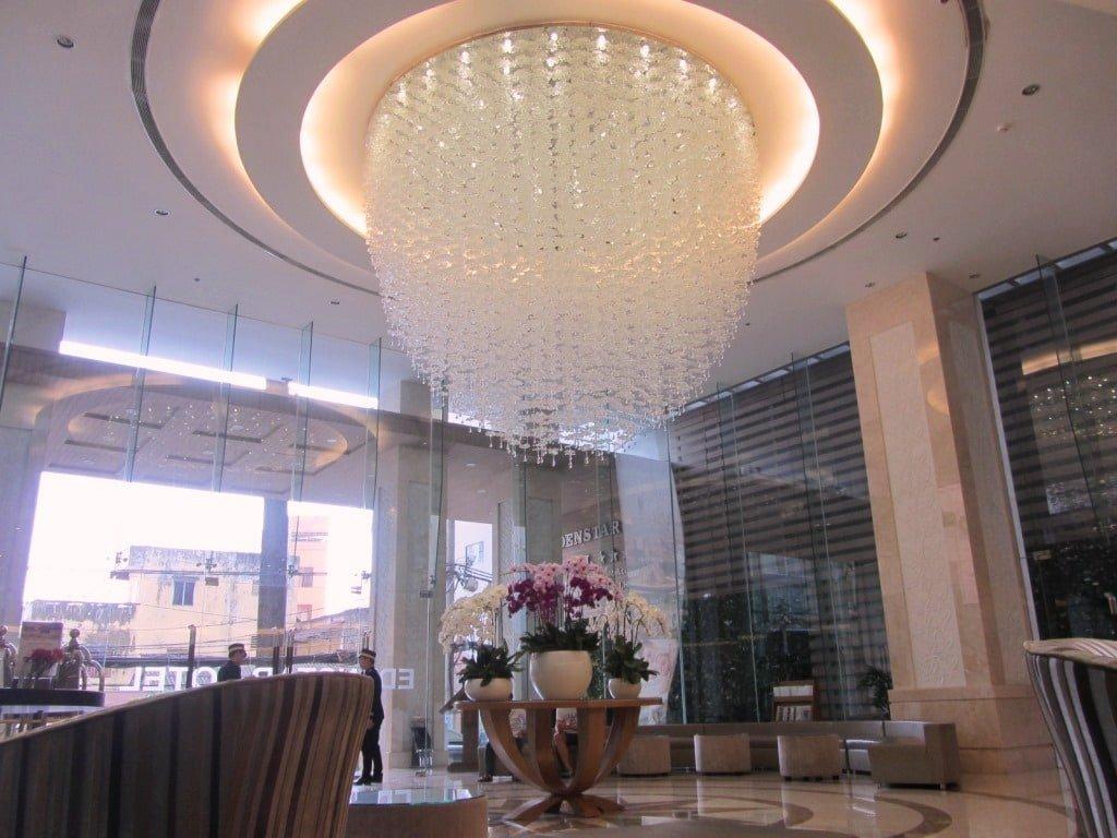 Lobby at Edenstar Hotel, Saigon
