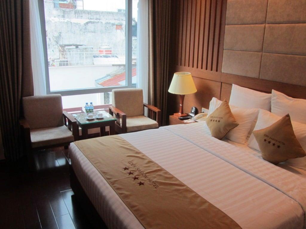 Guest room, Edenstar Hotel, Saigon