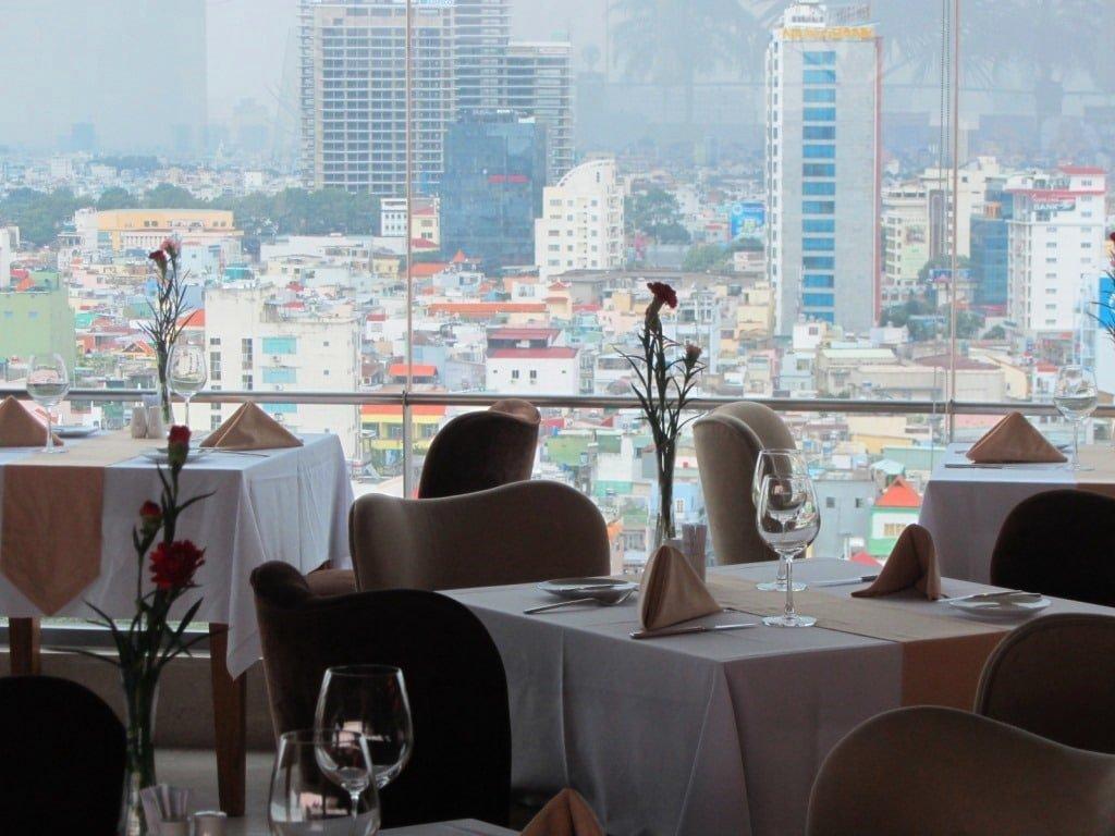 Rooftop restaurant/bar, Edenstar Hotel, Saigon