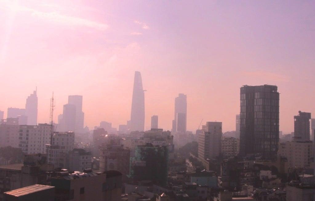 View from Edenstar Hotel rooftop, Saigon