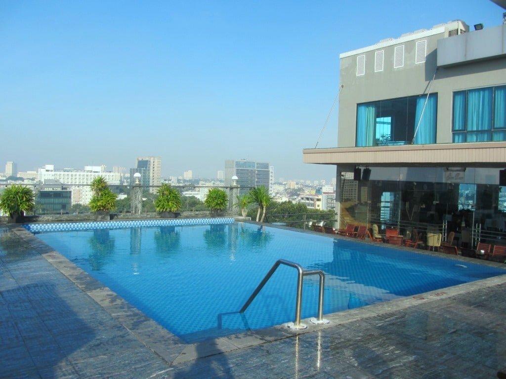 Rooftop pool, Edenstar Hotel, Saigon