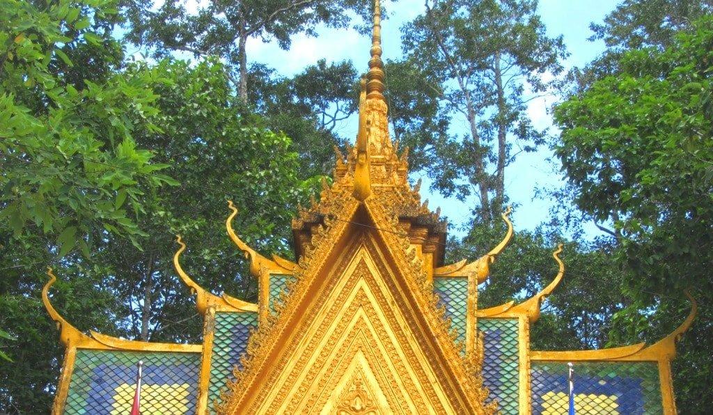 Khmer temple, Tra Vinh, Mekong Delta