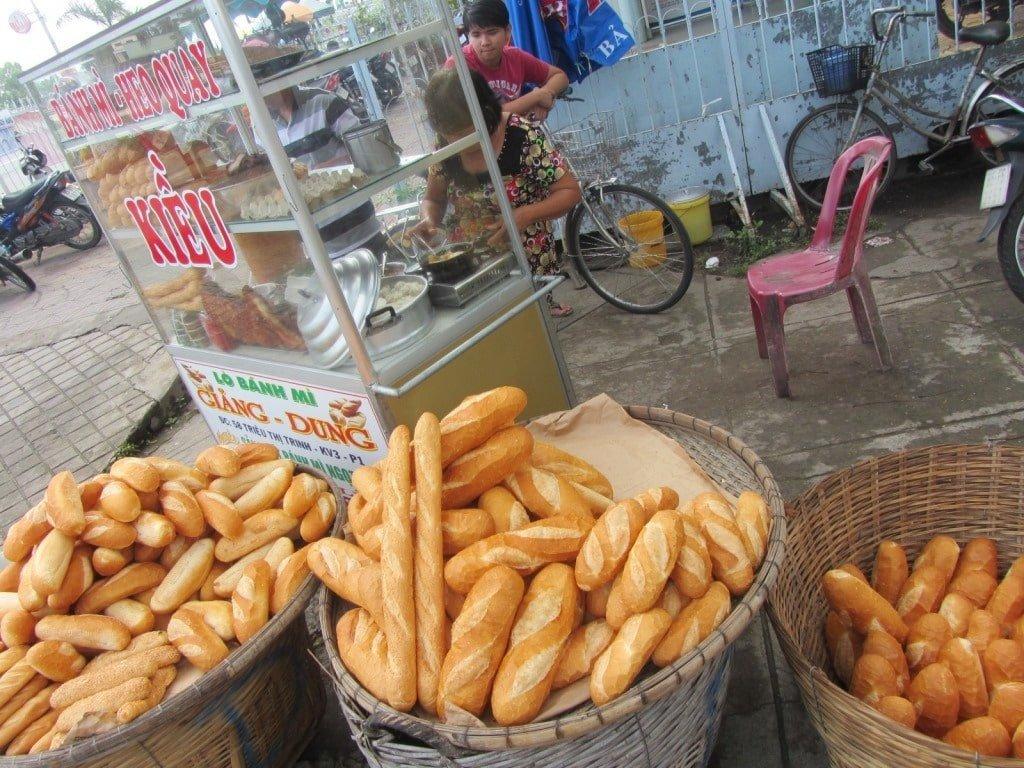 Breakfast bread, Ben Tre, Mekong Delta