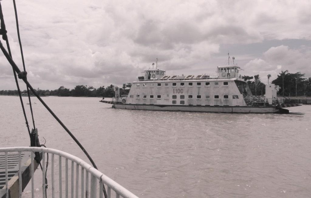 Ben Tre ferry, Mekong Delta
