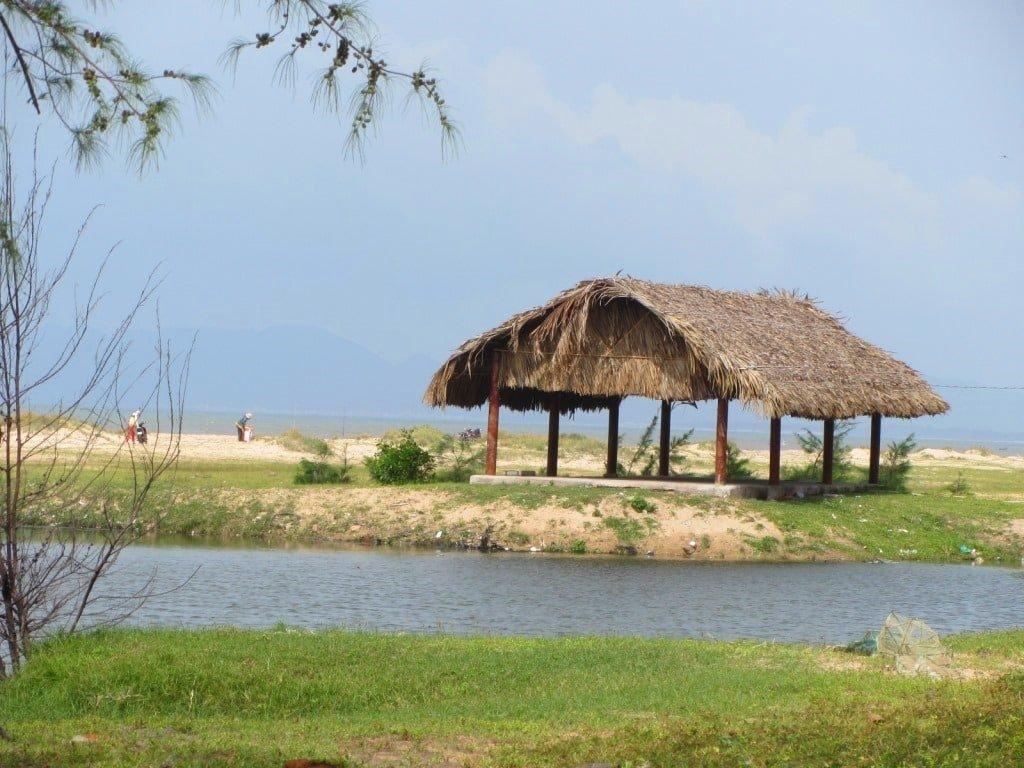Saigon Container Camping, Ho Tram Beach, Vietnam