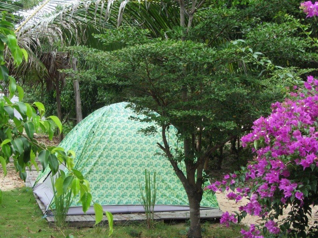Son My Beach Camping, Lagi, Vietnam