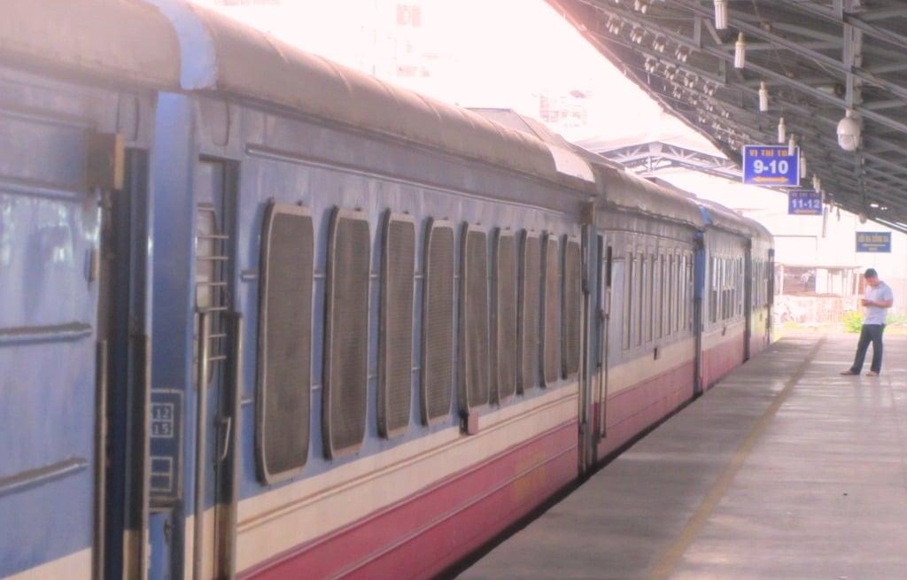 Take the train from Saigon to Phan Thiet