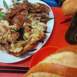 Grilled chicken corner, Binh Thanh District, Saigon