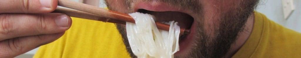 Slurping your noodles is good in Vietnam