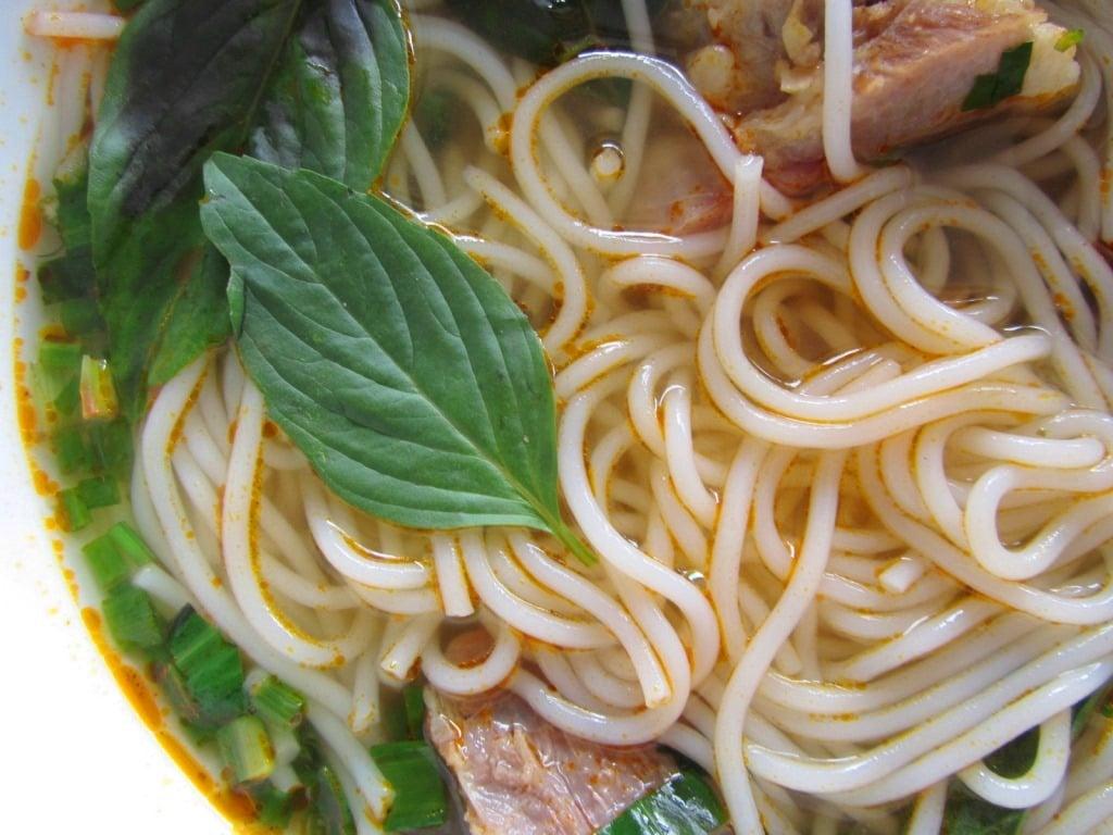 Why it's good to slurp your noodles in Vietnam