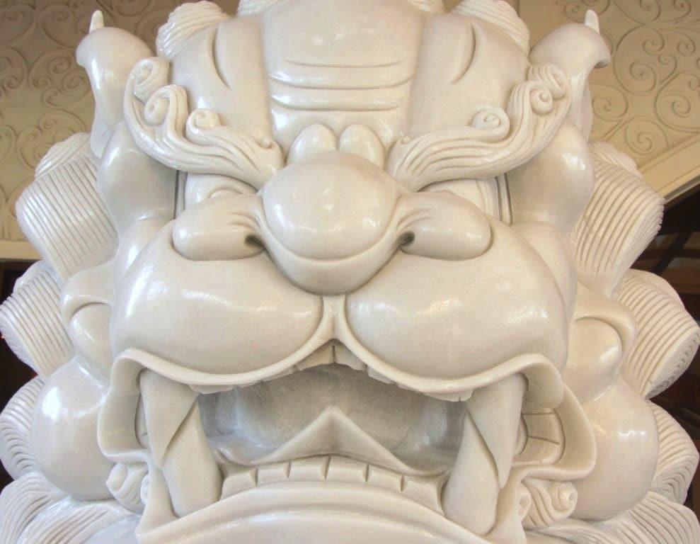 Marble lion, The Grand Ho Tram Casino & Resort