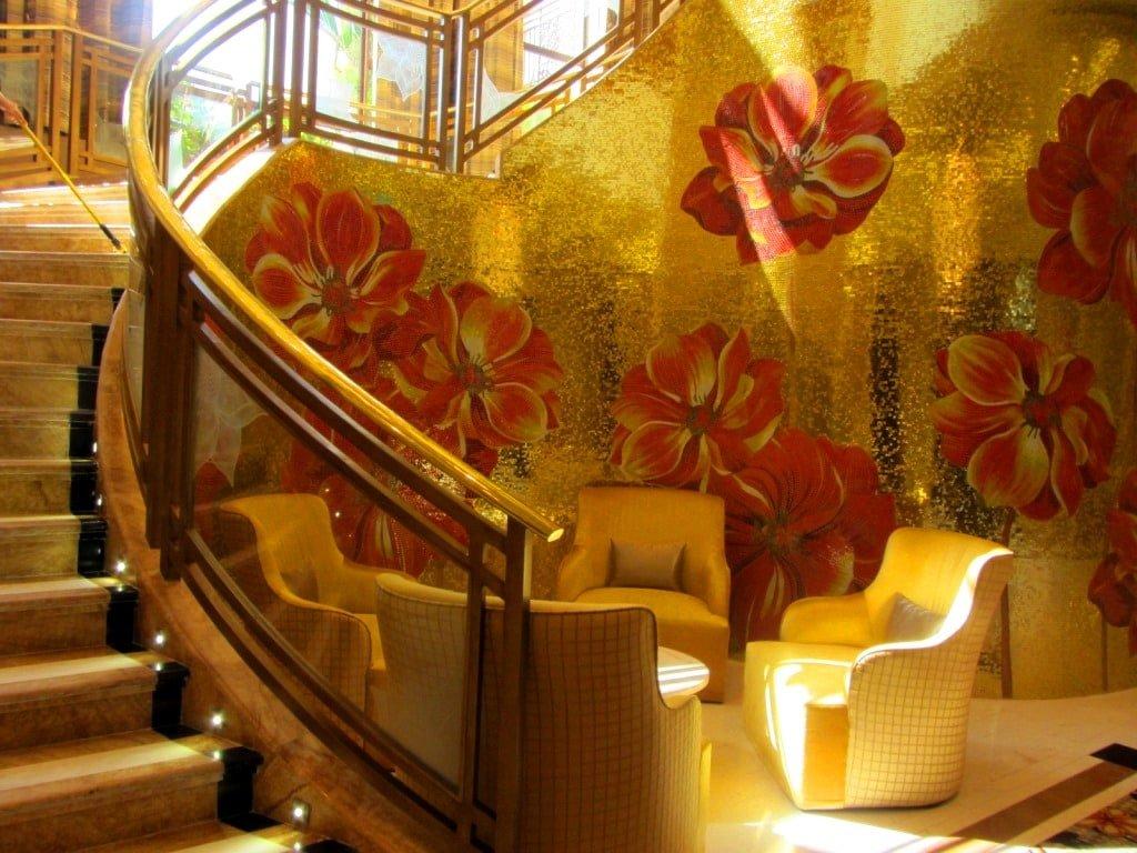 Glitzy decor, The Grand Ho Tram Casino & Resort