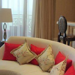 Lavish room decor, The Grand Ho Tram Casino & Resort