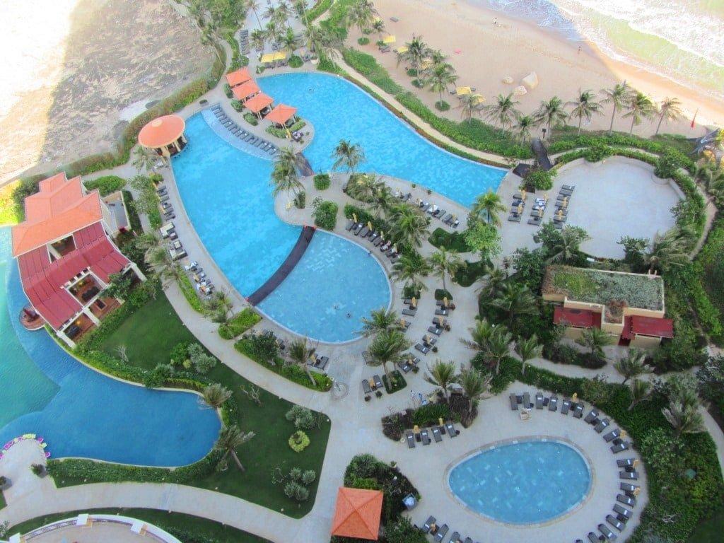 Swimming pools, The Grand Ho Tram Casino & Resort