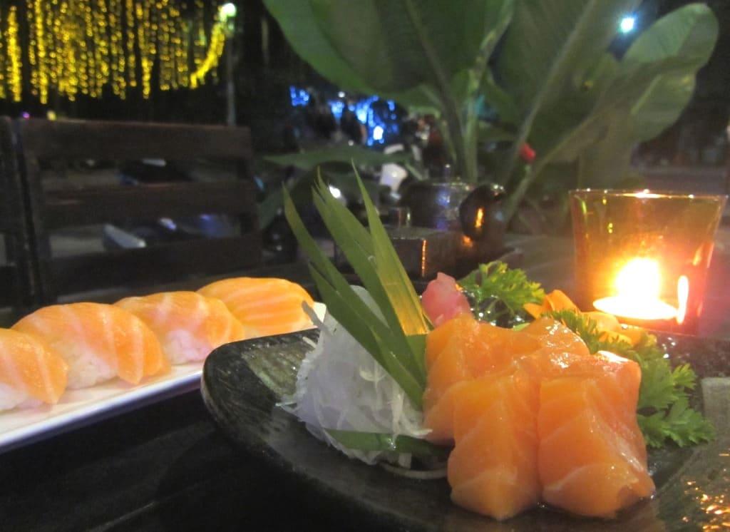 Budget Sushi in Saigon, Vietnam