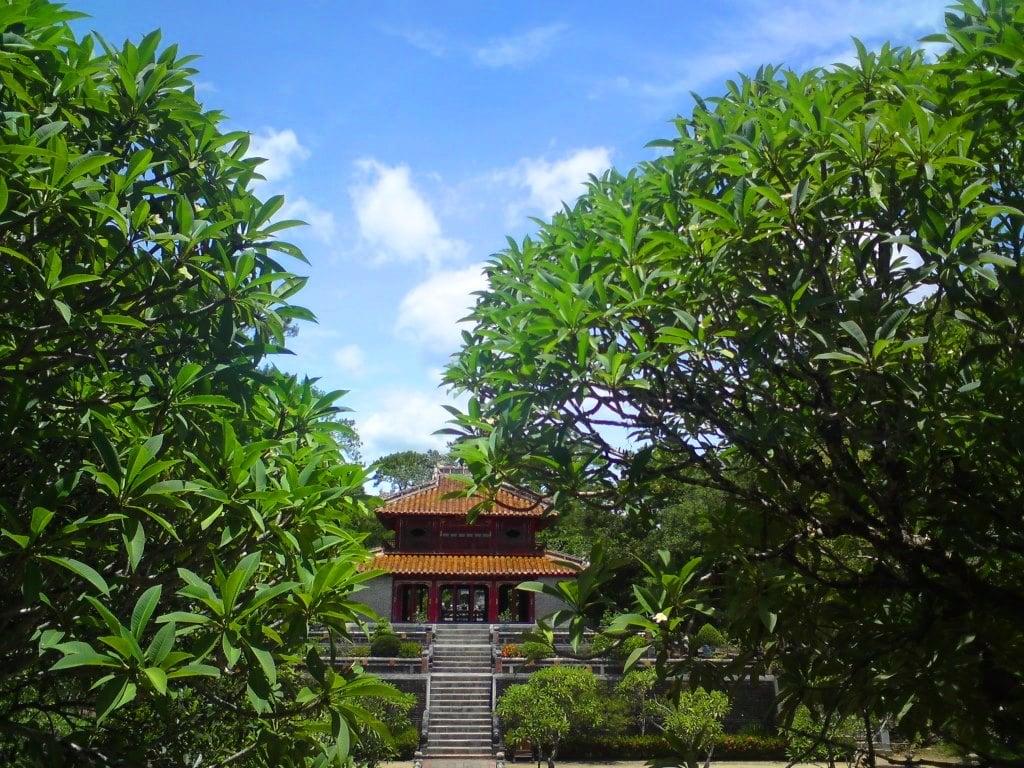 Tomb of Emperor Minh Mang, Hue, Vietnam