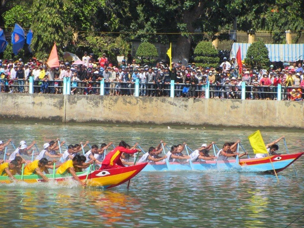 Tết boat races, Phan Thiet, Vietnam