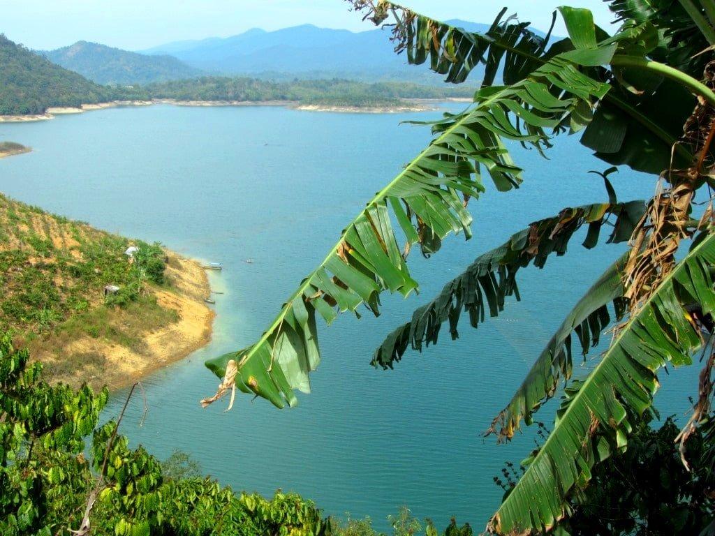 Ham Thuan Reservoir, Binh Thuan Province, Vietnam