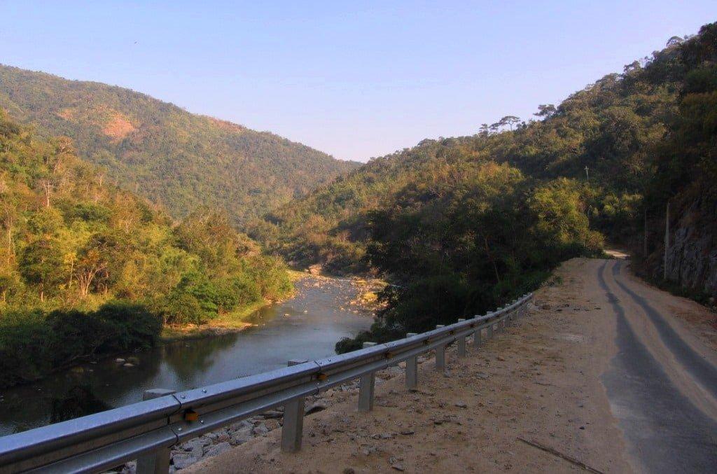 The Cai River, Ninh Thuan, Vietnam