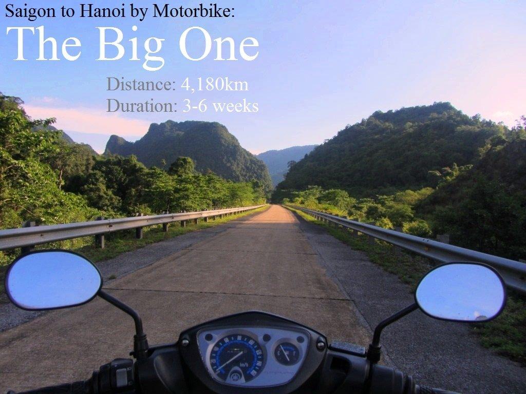 Saigon to Hanoi by Motorbike: The Big One Route