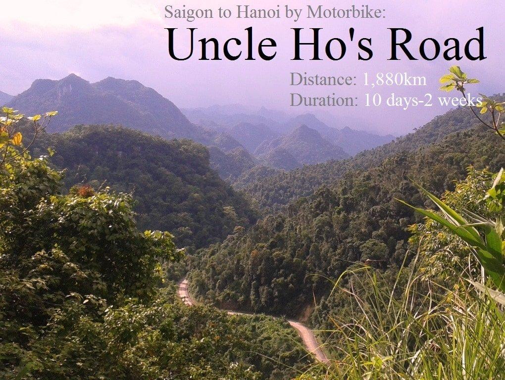 Saigon to Hanoi by Motorbike: The Ho Chi Minh Road