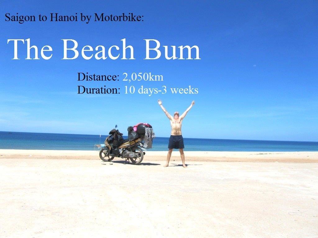 Saigon to Hanoi by Motorbike: The Beach Bum Route