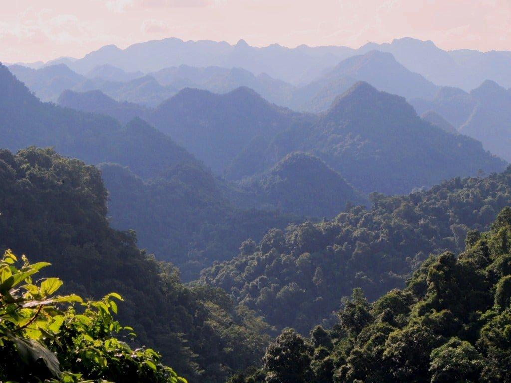 Limestone mountains, Phong Nha Ke Bang National Park, Western Ho Chi Minh Road, Vietnam