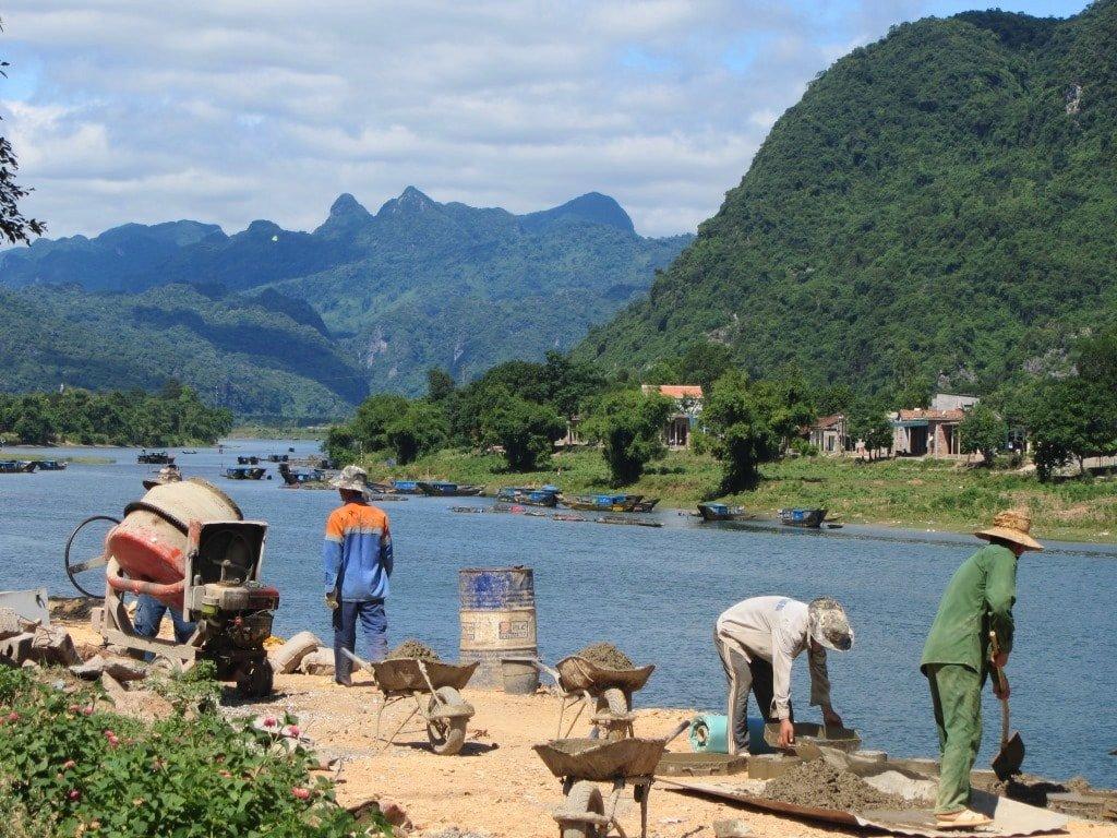 Phong Nha, Son Trach Town, Vietnam