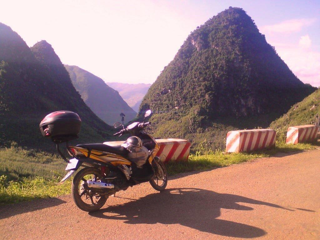 My GIVI Bike Box, Tom, Vietnam Coracle