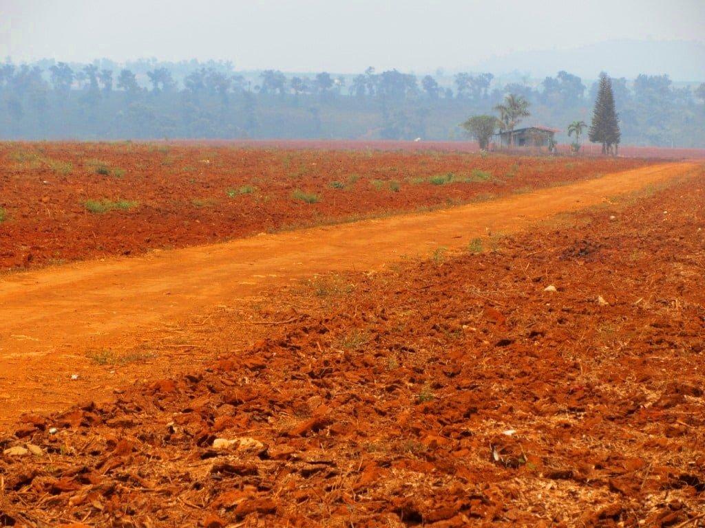 Central Highlands agriculture, Ho Chi Minh Road, Vietnam