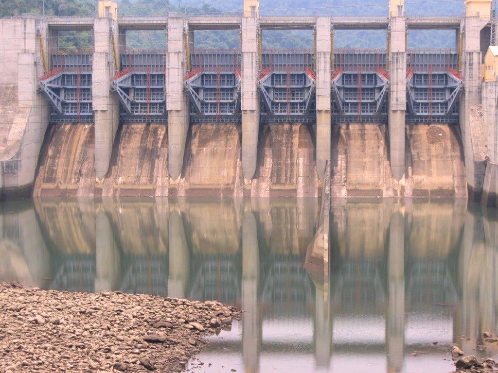 Hydroelectricity dam, Ho Chi Minh Road, Vietnam