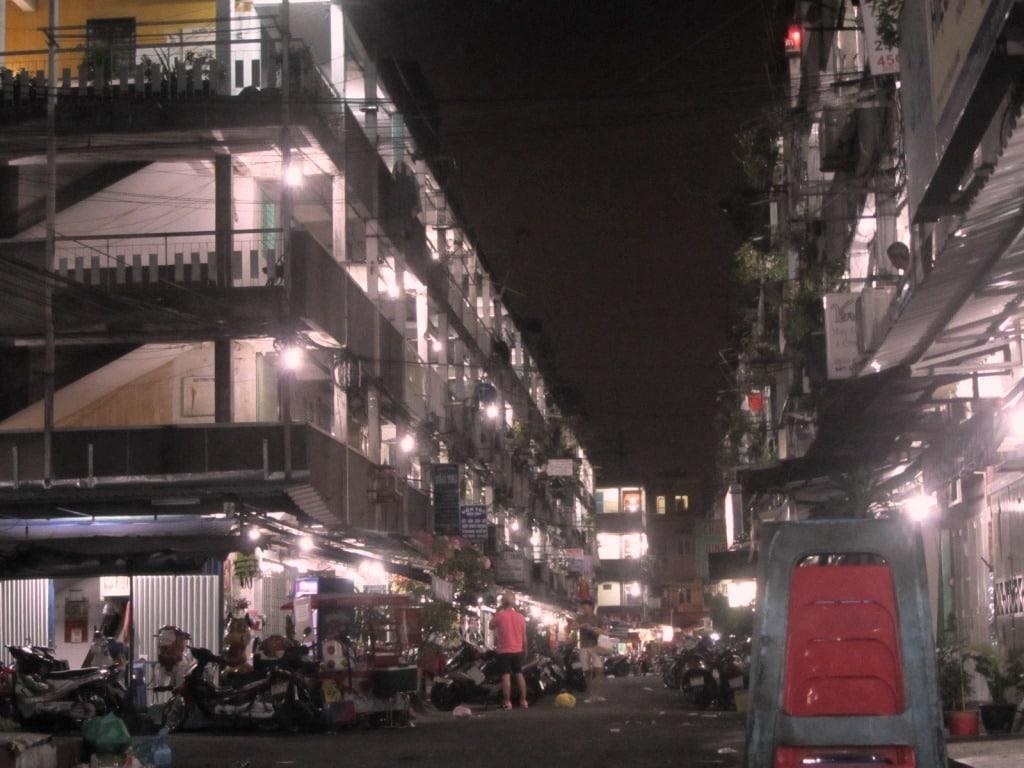 Saigon's Street Food Ghettos, Nguyen Thien Thuat Street, District 3, Vietnam