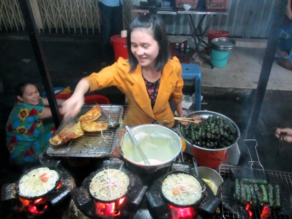 Saigon's Street Food Ghettos, Su Van Hanh Street, District 10, Vietnam