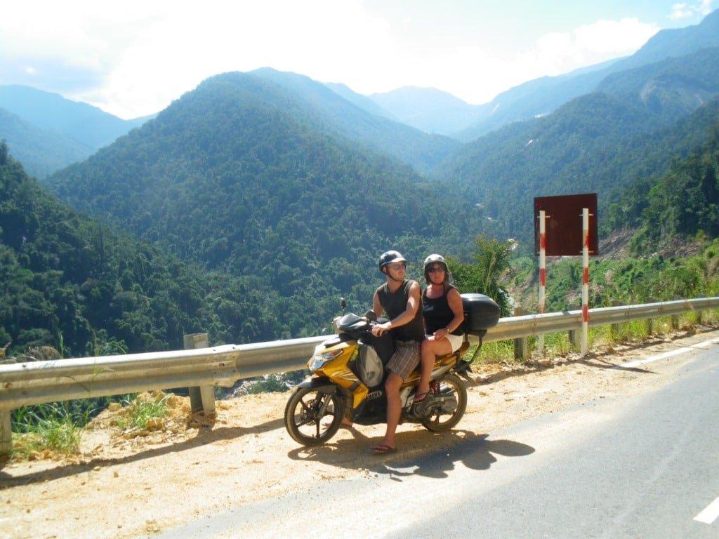 Room for Mum & I, GIVI Bike Box, Vietnam Coracle