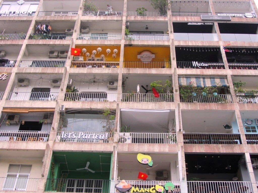 The Cafe Apartment, 42 Nguyen Hue Walking Street, Saigon