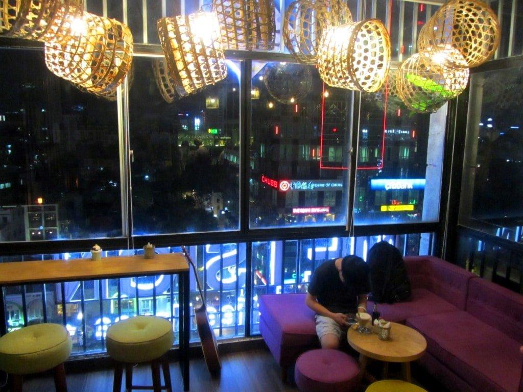 Metsign Cafe, 42 Nguyen Hue Walking Street, Saigon