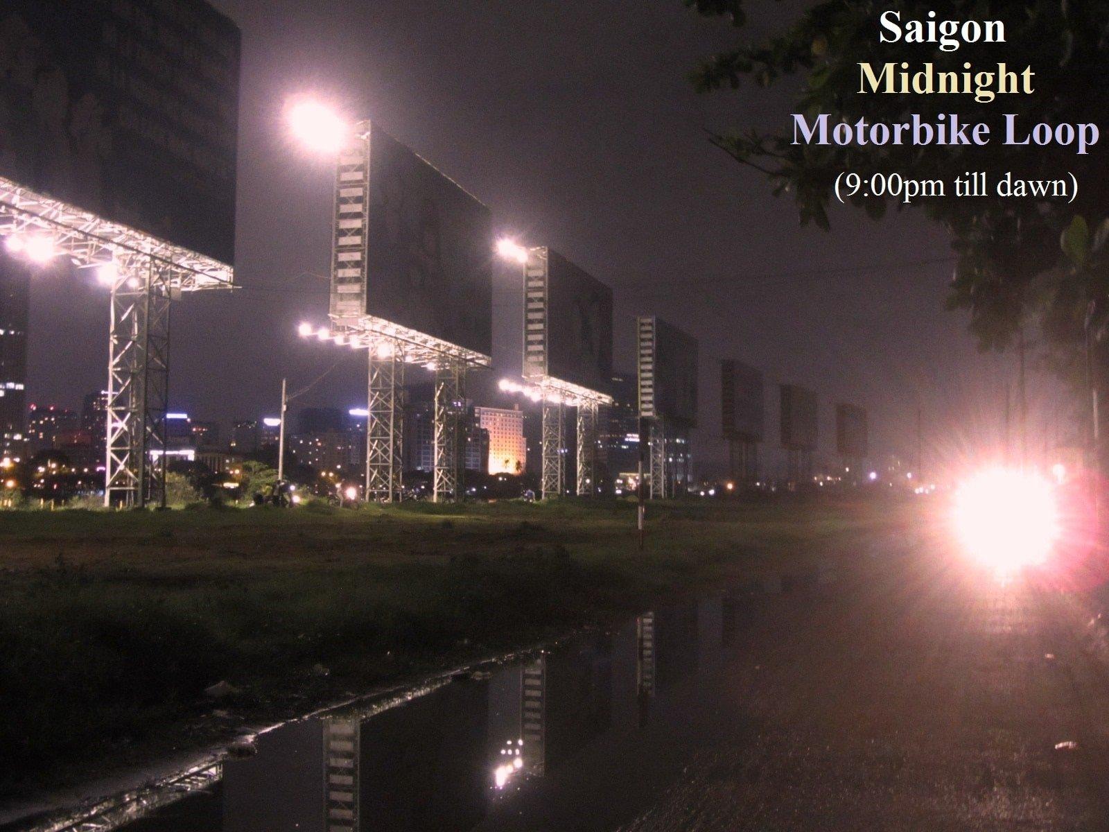 Saigon Midnight Motorbike Loop, Ho Chi Minh City, Vietnam