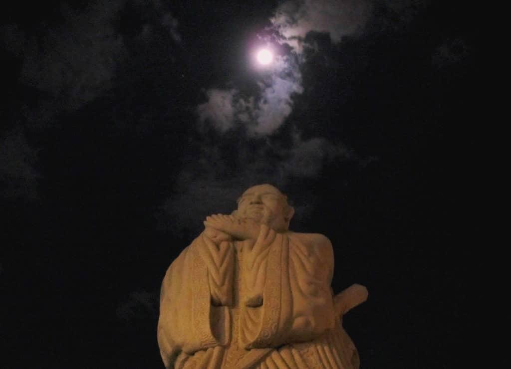 Statue of Confucius, Chinatown, Saigon