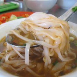 Goat noodle soup in Chinatown, Saigon