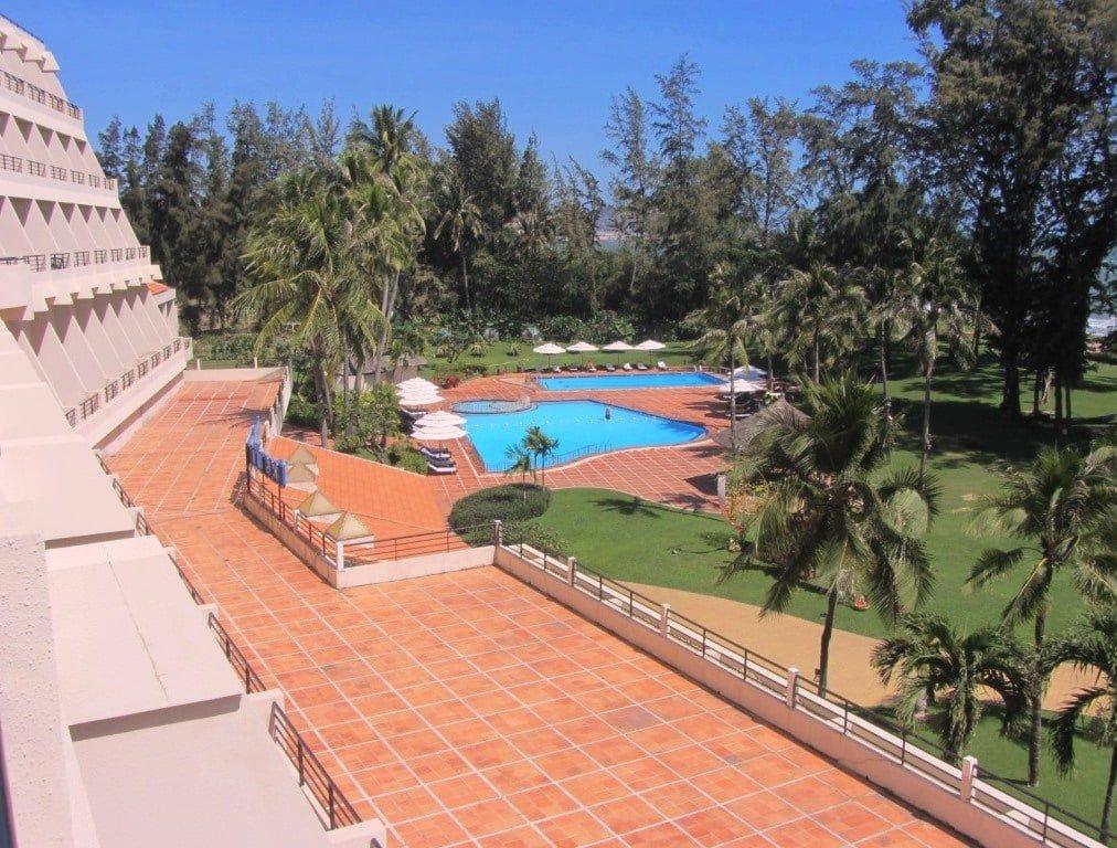 Swimming pools & garden, Ocean Dunes Resort, Phan Thiet, Vietnam