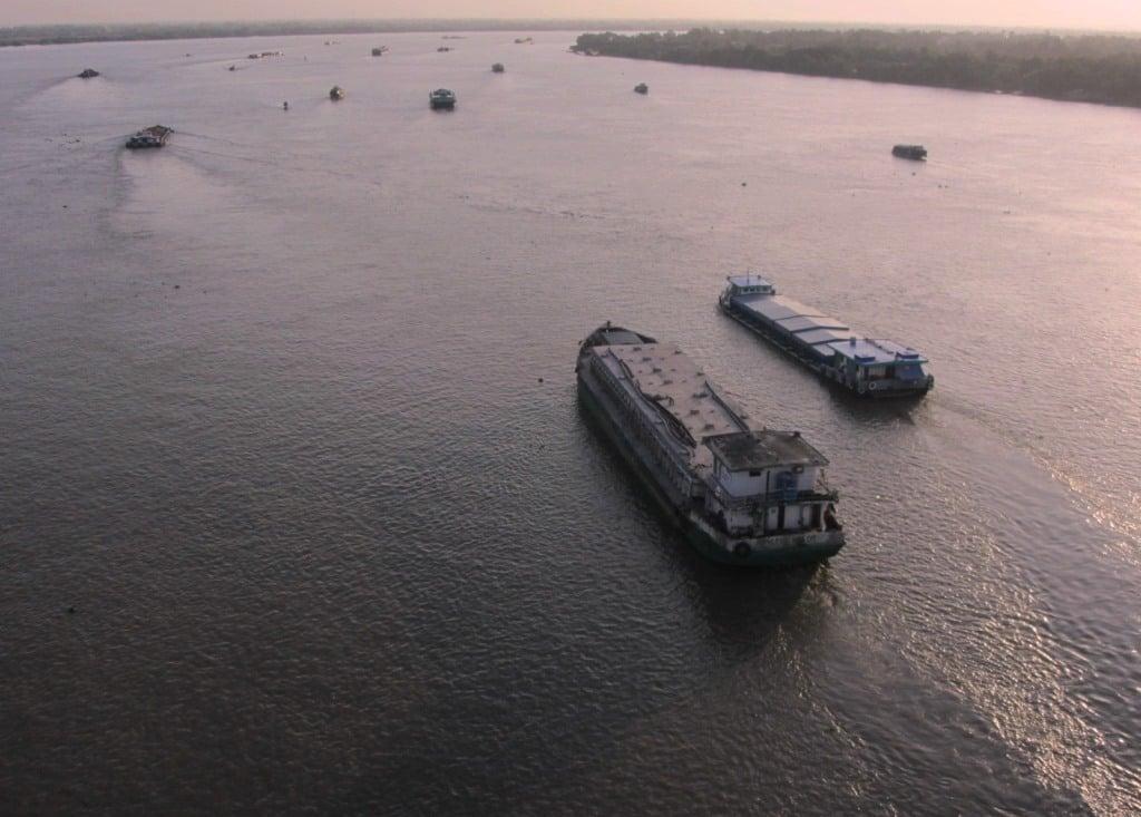 Dawn, Mekong Delta, Vietnam