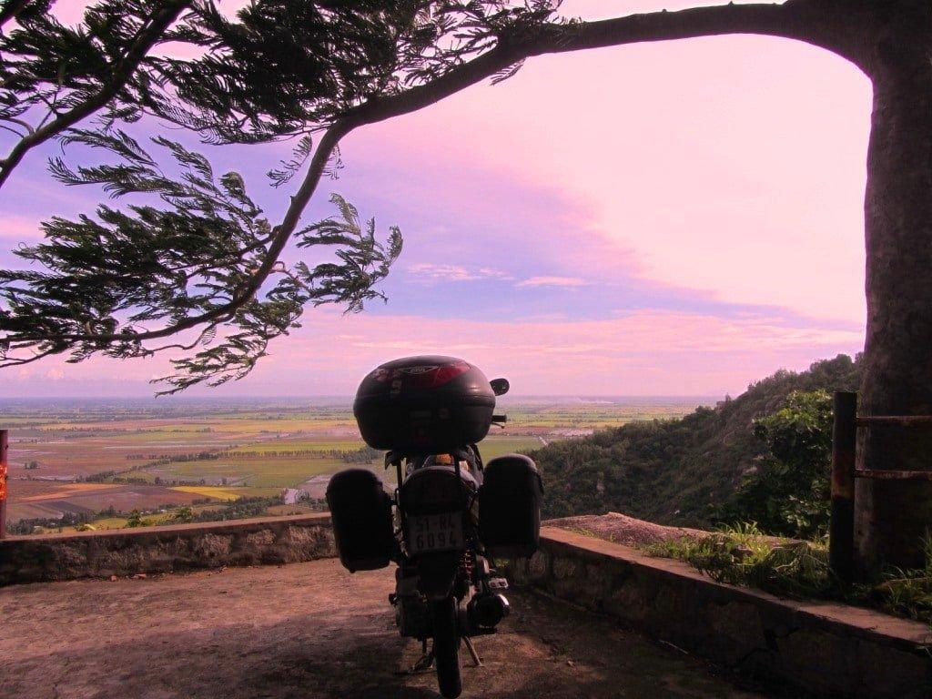 Mountains in the Mekong, motorbike road trip, Vietnam