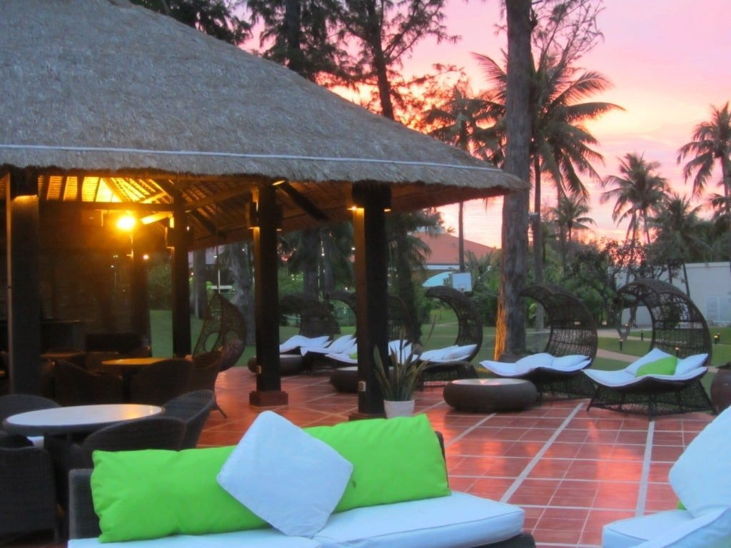 Beach Bar at Ocean Dunes Resort, Phan Thiet, Vietnam