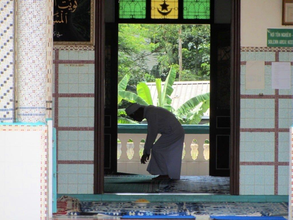 Cham Islamic mosque, Chau Giang, An Giang Province, Mekong Delta, Vietnam