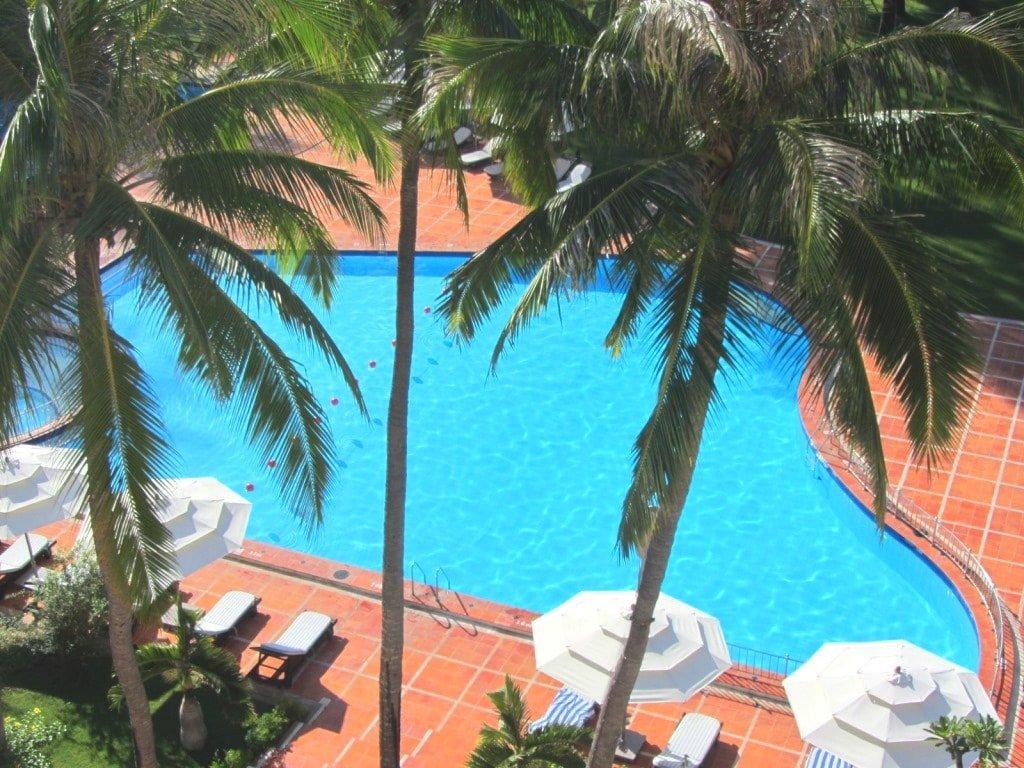 The pool at Ocean Dunes Resort, Phan Thiet, Vietnam