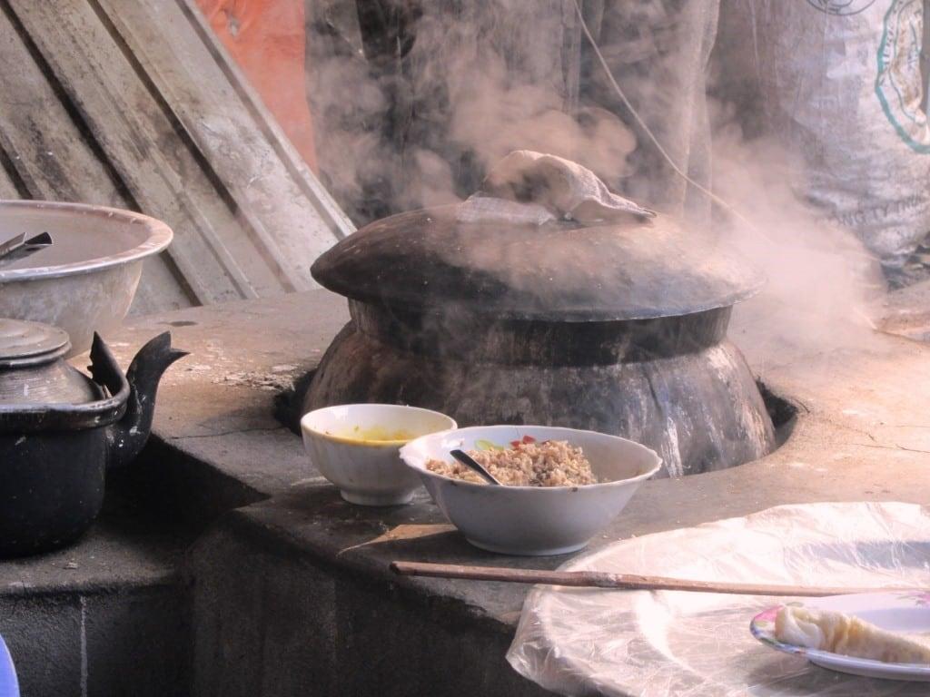 Cooking aromas in northern Vietnam