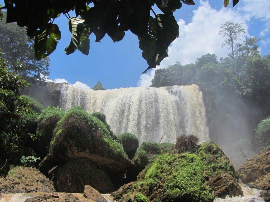 Elephant Waterfall, Dalat, Vietnam