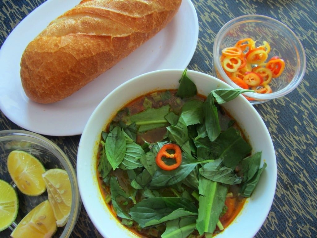 Bò kho, beef stew, Saigon, Ho Chi Minh City, Vietnam