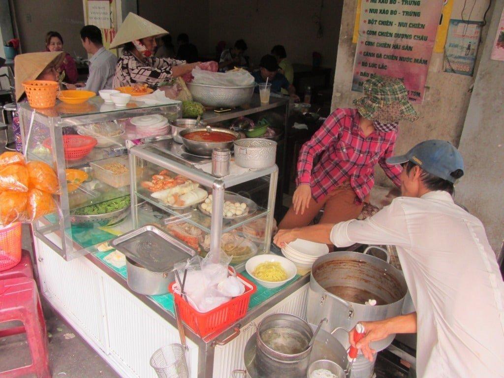 Mì Quảng 85 noodle house, Saigon, Ho Chi Minh City, Vietnam
